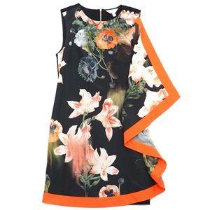 Ted Baker Erthaa Opulent Bloom Floral Dress